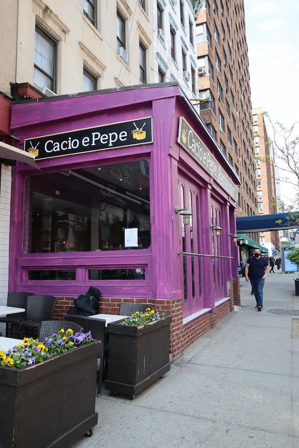 Cacio e Pepe Upper East Side