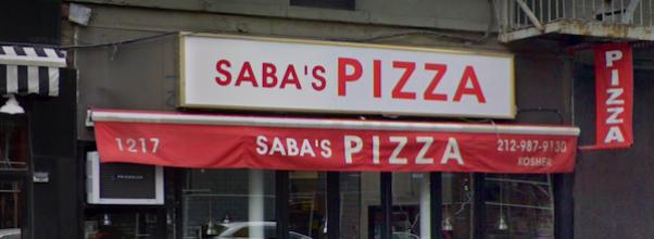 Brick Thrown at Saba's Pizza