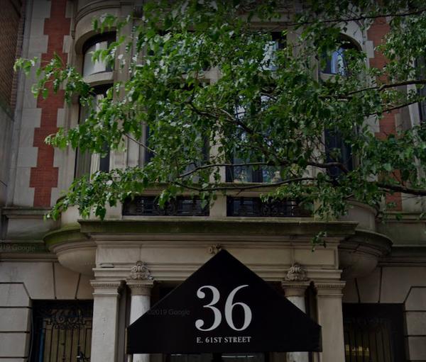 36 East 61st Street Casa Cruz