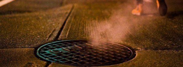 Manhole Fire Causes Power Outage