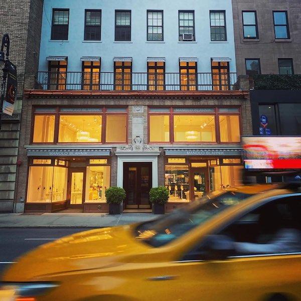 Manolo Blahnik Madison Avenue Flagship