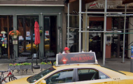 Taxi Crashes into 2nd Avenue Restaurant