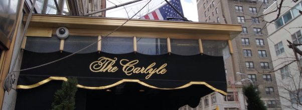 A New Restaurant at The Carlyle is Slated to Open this Fall