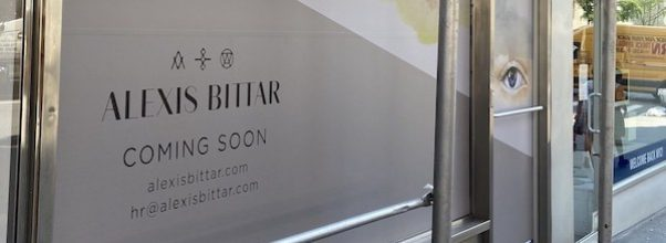 New + Coming Soon: Alexis Bittar, Beyond Sushi's Happy Hour