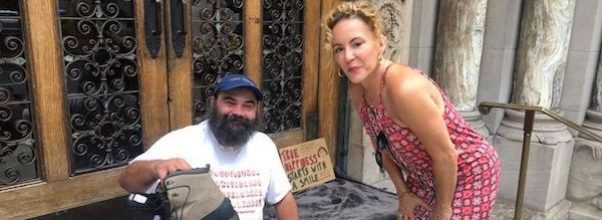 Homeless Helper: A Hero Delivers Goods to Those In Need