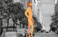Naked Guy Hangs on Upper East Side