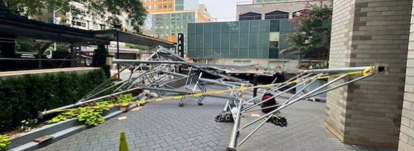 Scaffolding Collapses on East 65th Street