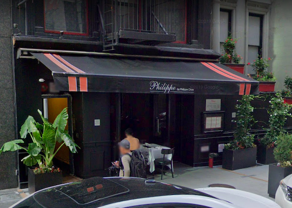 shooting robbery Philippe 33 East 60th Street