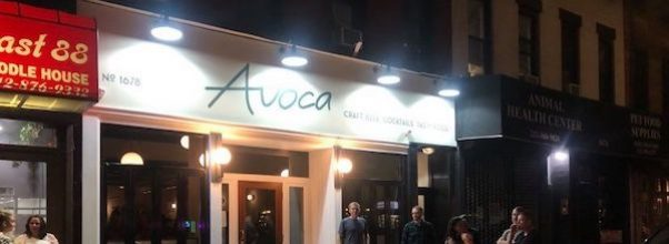 Avoca Opens on First Ave