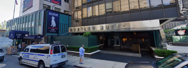 Truck Crashes into Bentley Hotel