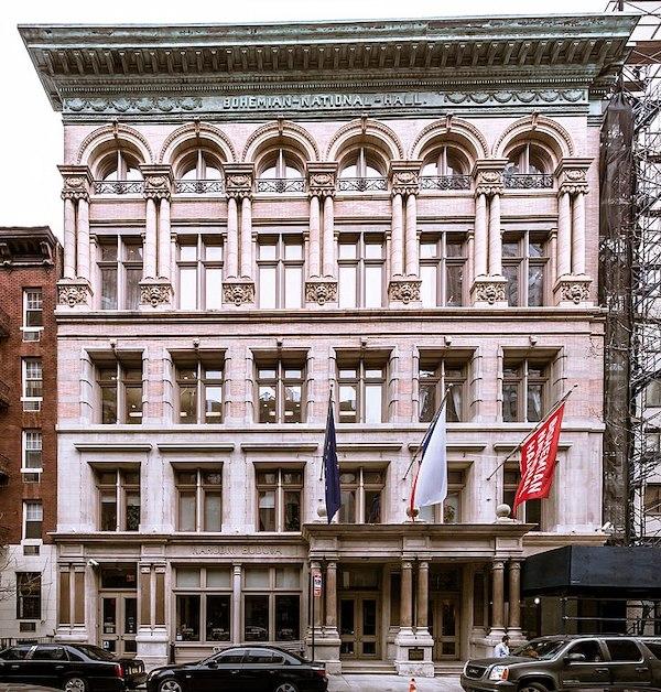 Bohemian National Hall 321 East 73rd Street