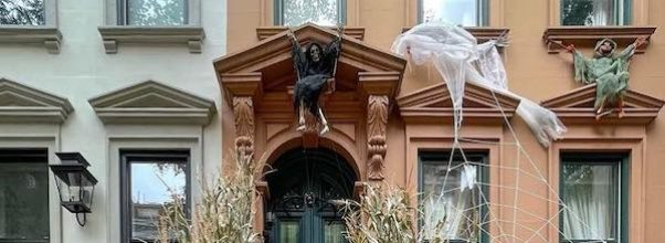 Creepy Halloween Houses of the Upper East Side