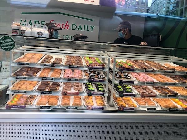 Krispy Kreme 86th and Lexington Avenue